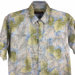 Tori Richard Hawaiian Shirt Medium Mens Floral